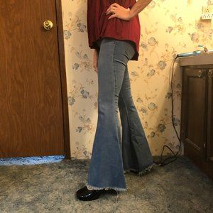 Free People fit and flare jeans